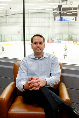 Joed Viera/Staff Photographer-Tim Bulmer pictured at  Cornerstone Arena. Before