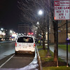 Joed Viera/Staff Photographer-Lockport, NY-A car parks on Main Street.