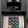 Joed Viera/Staff Photographer-Monday morning a credit card skimming device was removed from the credit card reader on  pump No. 1 at Scapelliti's Super Store. Tuesday afternoon three suspects were arrested at the Walmart in Albion attempting to use fradulent credit card information to make purchases.
