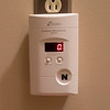 Joed Viera/Staff Photographer-The Pinzel's carbon monoxide alarm has new batteries.