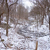 Joed Viera/Staff Photographer- Lockport, NY-Eighteen Mile Creek starts behind the Erie Canal at Upson Park. The EPA's clean-up phase involves removing PCBs, lead and other contaminents from the creek.