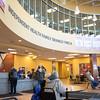 Joed Viera/Staff Photographer-The lobby of the Williamsville YMCA.