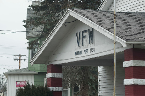 Joed Viera/Staff Photographer-Newfane, NY-The former Veterans of Foreign Wars post 8438's building.