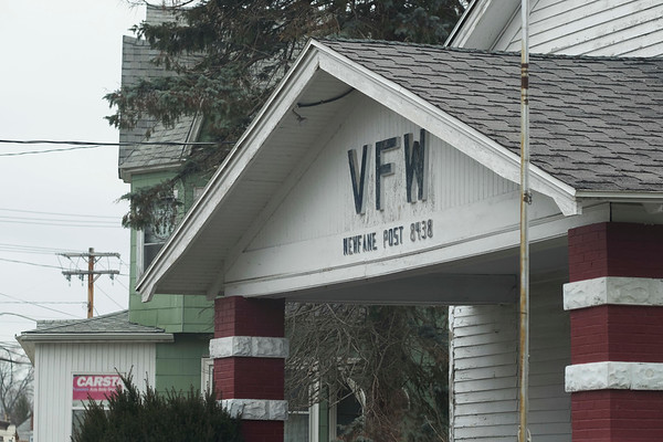 Joed Viera/Staff Photographer-Newfane, NY-The former Veterans of Foreign Wars post 8438's building now owned by the town is up for sale.