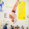 Joed Viera/Staff Photographer-Lockport ,NY-Jake Minnick performs a 5223d, a backflip, one and a one half twist for which he was awarded a 6.5 and 7 by the judges at Lockport High School's swim meet with Lew-Port.