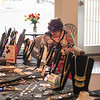 Joed Viera/Staff Photographer-Sheila D Carden sells Park Lane Jewelry in the ENH Lobby Thursday afternoon. The Chicago based organization operates as a fundraiser nationwide giving organizations 20 percent of their sales.  Carden has worked for Park Lane Jewelry for over 40 years