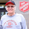JOED VIERA/STAFF PHOTOGRAPHER-Lockport, NY-Robert Drinkwater stands outside the Salvation Army.