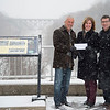 Joed Viera/Staff Photographer- Lockport, NY-Todd M. Retell and Jim M. Shaw stand with Lockport Mayor Anne McCaffrey.