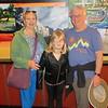 LILAH WITH GRANDMA AND GRANDPA AT SAN ANTONIO RIVER WALK