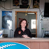 JOED VIERA/STAFF PHOTOGRAPHER-Lockport, NY-Sue Jackman behind the stand of the former Open Air Depot. Jackman purchesed the property and aims to re-open the Newfane drinkery as the Firepit Tavern.