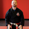 Joed Viera/Staff Photographer Lockport, NY-Tom Hillman in his new martial arts center at 6007 Brockton Dr.
