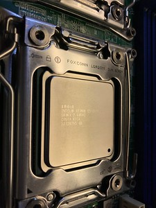The SR0KX CPUs are installed
