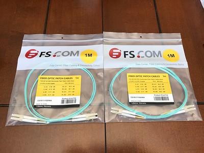 2x 1m OM3 Fiber