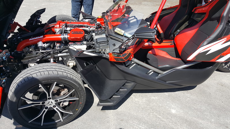 YES, ONE OF THESE!  A POLARIS SLINGSHOT WITH 350 HORSEPOWER!
