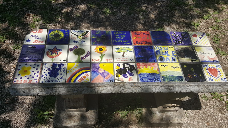 COOL BENCH.