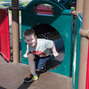JOED VIERA/STAFF PHOTOGRAPHER-Lockport, NY-  Michael McDonald, 6, plays at Day Road Park.