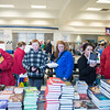 JOED VIERA/STAFF PHOTOGRAPHER-Lockport, NY- Kids and Parents look through the selection of books during the Family Literacy Night and Fitness Fair at North Park.