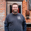 Bryan DeGraw stands outside of 810 Meadworks in Medina. The former teacher opened the meadery with wife Larissa in 2014.(Joed Viera)