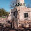 JOED VIERA/STAFF PHOTOGRAPHER-Lockport, NY-City officials are waiting for approval to commence repair work on the memorial at Veterans Memorial Park.