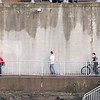 JOED VIERA/STAFF PHOTOGRAPHER-Lockport, NY-A group of kids walk around the Locks.