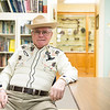 JOED VIERA/STAFF PHOTOGRAPHER-Lockport, NY- Dick Gallagher at the Niagara County Historical Society.