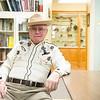 JOED VIERA/STAFF PHOTOGRAPHER-Lockport, NY- Dick Gallagher at the Niagara County Historical Society.