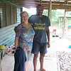 AFTER OUR JUNGLE/WATERFALL HIKE OUR GUIDE TOOK US TO HIS HOME FOR A FIJIAN LUNCH.