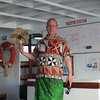 MARTEN IN HIS SULU.  WE ARE GOING TO VISIT A FIJIAN VILLAGE AND THIS IS THE TRADITIONAL WEAR.  FAN OPTIONAL!  MARTEN, YOU LOOK HOT!!