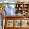 JOED VIERA/STAFF PHOTOGRAPHER-Pendleton, NY-Jennifer and Jacob  Wankasky at 5 Corners Country Store and Antiques.