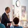 JOED VIERA/STAFF PHOTOGRAPHER-Lockport NY-Lance Bush, president and CEO of Challenger Center speaks, during the Lockport Center's luncheon.