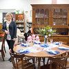 JOED VIERA/STAFF PHOTOGRAPHER-Lockport,NY-Bear Bottom Wholesale manager Cyndi Trachte stands in the furniture section of the business' new location. The shop moved from Harrison Place to the former Ultimate Physique location on April 29th. Owner Larry Breyer said the new location has more than double the space.  Bear Bottom buys most of it's wares from estate sales and offers everything in their store at prices that are negotiable. Check out their new location at 20 Ann Street in Lockport