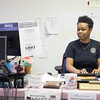 JOED VIERA/STAFF PHOTOGRAPHER-Lockport, NY- Probation officer Marcella Carson works in her office.
