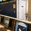 JOED VIERA/STAFF PHOTOGRAPHER-Lockport NY-A boy looks into the Challenger Center control room during the Center's open house event.