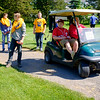 JOED VIERA/STAFF PHOTOGRAPHER-Lockport, NY-Niagara Academy students travel between stations during the Lions Club's Diverse Students Golf Clinic at Willowbrook Golf Course.