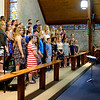 JOED VIERA/STAFF PHOTOGRAPHER-North Park Chorus students perform during the Strawberry Festival at Christ Episcopal Church.