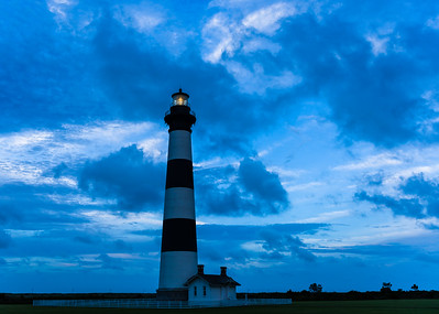 'Blue Hour' at Bodie Island Lighthouse