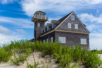 Restored lifesaving station at Pea Island National Wildlife Refuge.