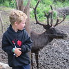ZACHARY LIKED THE REINDEER