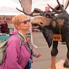 KISSING A MOOSE