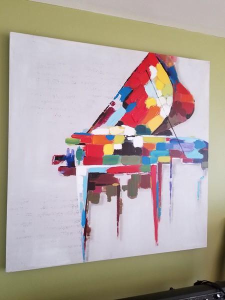 PIANO PAINTING