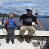 READY TO CATCH THAT SALMON; ZACHARY IS DRIVING