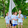 JOED VIERA/STAFF PHOTOGRAPHER-Den five Cub Scouts finish up their second ay of a week-long day camp.