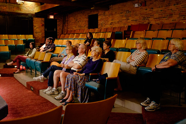 A crowd watches as the Lock City Glee Club perform in the Taylor Theatre during the Kenan Center's 50th Aniversary Community Day event.(Joed Viera/Lockport Union-Sun & Journal)