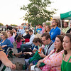 A crowd watches as the Albany Symphony play their final Water Music New York concert inside Lock 35 of the Erie Canal on Saturday, July 8th, 2017 in Lockport N.Y.  The Symphony performed seven concerts in as many days across New York State to celebrate the Canal's Bicentennial. (Joed Viera/Lockport Union-Sun & Journal)