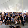 JOED VIERA/STAFF PHOTOGRAPHER-Dozens in attendance to YMCA Buffalo Niagara CEO Buddy Campbell speaks at the organization's ground breaking ceremony for it's new facility projected to open in October 2018.