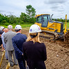 JOED VIERA/STAFF PHOTOGRAPHER-YMCA breaks ground for its new facility projected to open in October 2018.