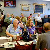 JOED VIERA/STAFF PHOTOGRAPHER-Turn out was high at the Union-Sun & Journal's breakfast at the Slippery Skillet.