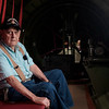 "JOED VIERA/STAFF PHOTOGRAPHER-Roy Phillips, a WW2 veteran, who served in the 457th Anti-Aircraft Artillery Battalion, during a flight on the Madras Maiden, a WW2 era B-17 ""Flying Fortress"" on Monday, Aug. 7, 2017 in Buffalo, N.Y. Although Phillips never flew on a B-17 during the War, he claims to have seen thousands of the aircrafts in flight while stationed as a gunner in France during the Battle of the Falaise Gap. Tours and flights on the Maiden are available to the public at Prior Aviation FBO on August 12th and 13th."