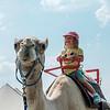 JOED VIERA/STAFF PHOTOGRAPHER- Emilia Wochna 4 rides a camel at the Niagara County Fair.