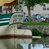 The Lois McClure docks on the Erie Canal in Middleport, N.Y. on Wednesday, Aug. 23, 2017. The McClure, is a replica canal schooner that launched in 2004. It was inspired by a shipwreck found at the bottom of Lake Champlain.(Joed Viera/Lockport Union-Sun & Journal)